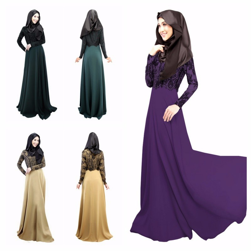 Guangzhou runde garment factory new latest design dubai abaya 2017 new model abaya in dubai