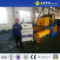 Aupu Y81T-160B scrap metal chip compactor Large model to UK