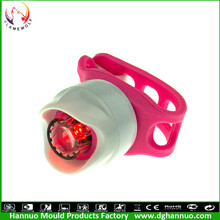 Customize Accept mini good popular super bright bike 5led rear tail light bike light red warning safety light