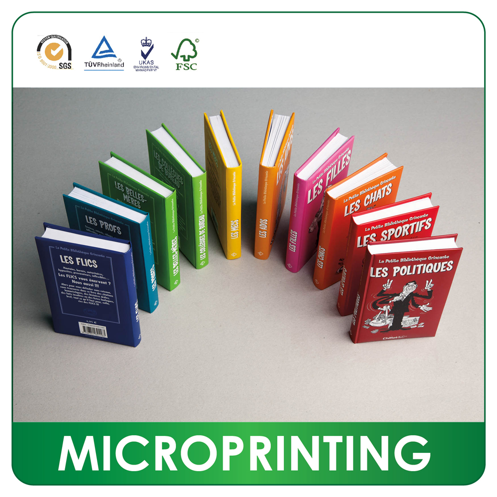 Factory mini printing coupon book printing