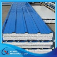 prepainted hot dip galvanized sandwich panel corrugated steel sheet