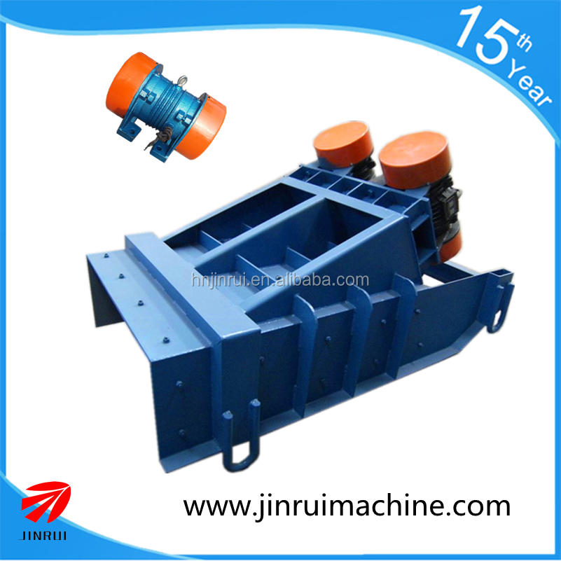 Small vibarating feeder for belt conveyor