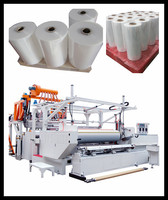Lastest New Developed Fully Automatic High Speed 3 Layer or 5 Layer Stretch Cling Film making machine