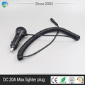 DC 12V led light indicator car cigarette lighter socket plug