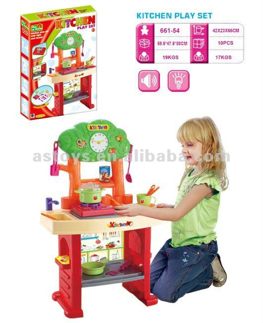 Play At Home happy real kids cooking plastic home appliance kitchen toys
