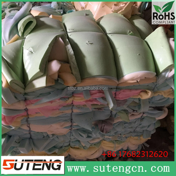 High resilience mixed color of furniture foam scrap super elasticity