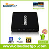 Cloudnetgoquad core android 5.1 smart watch t12 smart tv box android tv box mxiii