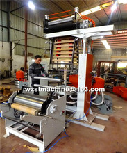 high PE film extruder/Biodegradable plastic bag production line/ PE film blowing machine price