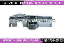 2013 injection mold for auto parts center console taizhou xiaojin mould