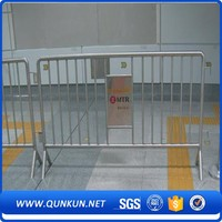 Galvanised Crowd Control Barriers Portable Removable Pool Fence
