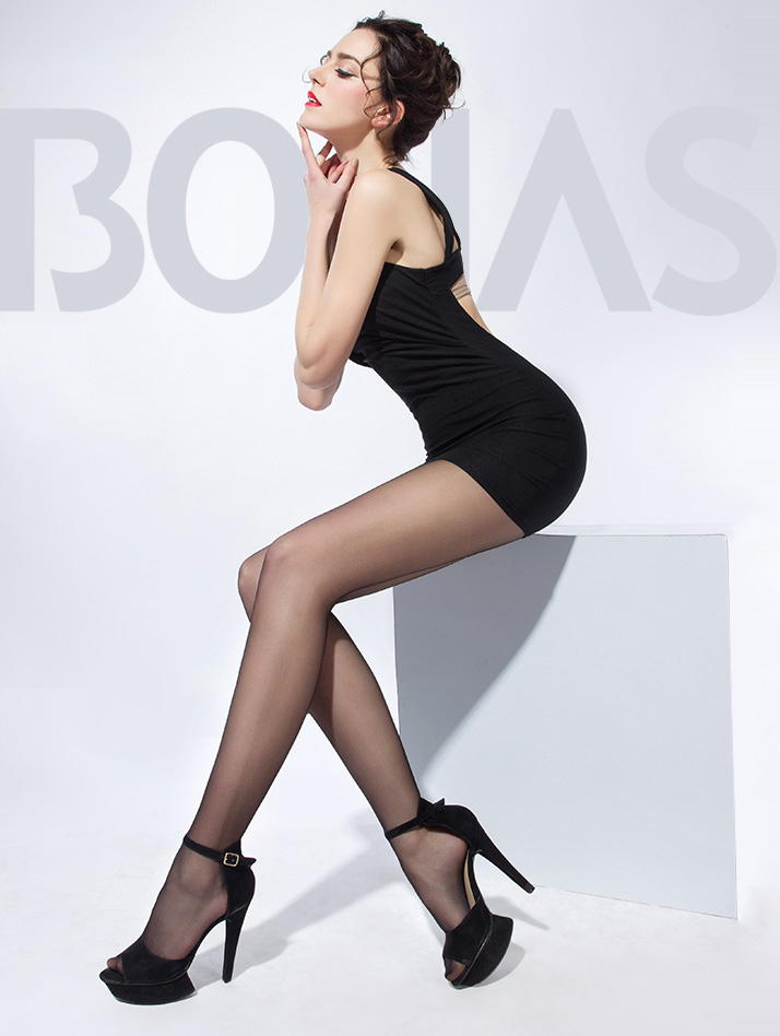 High Heels body shaping Black Pantyhose Tights Silk Stockings