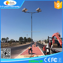 All in one 30 watt led street light integrated 40 watt solar street light sdjustable solar panel