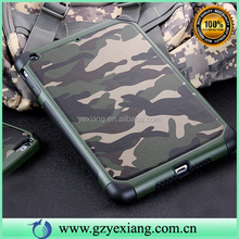 Best Products Hybrid TPU PC Shockproof Case For Ipad Mini Camouflage Cover