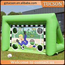 Most popular China manufacturer giant inflatable football throwing game