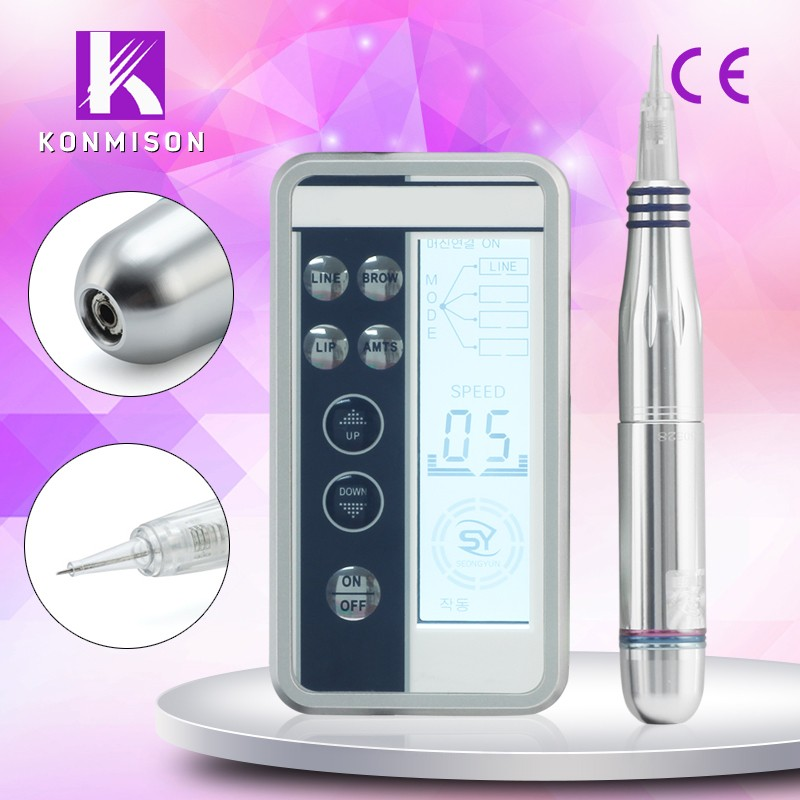 2016 Korea Professional Semi Permanent Makeup Tattoo Machine For Sale With CE