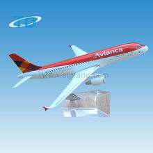 Business Gifts Airbus A320 Avianca Airliner Model Aeroplane