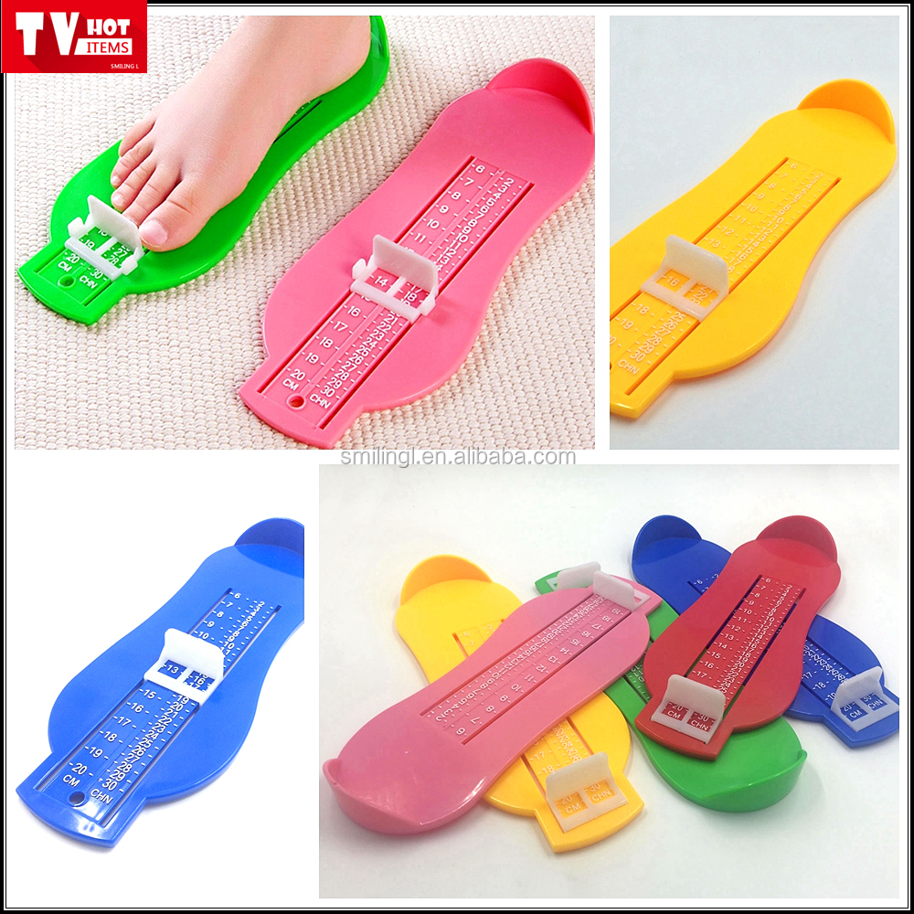 Good quality Foot Measure gauge Tool Baby Kid Children Foot/Shoe Measuring Device