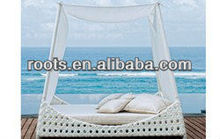 INDOOR OUTDOOR WICKER RATTAN SUN LOUNGE FURNITURE