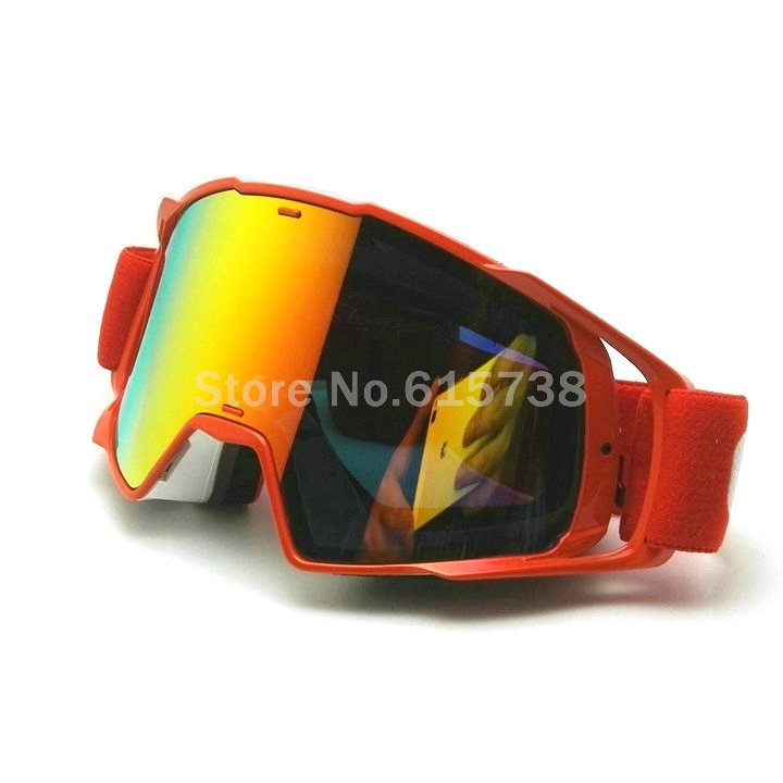 RED vintage racing goggles, Motocross goggle motorcycle