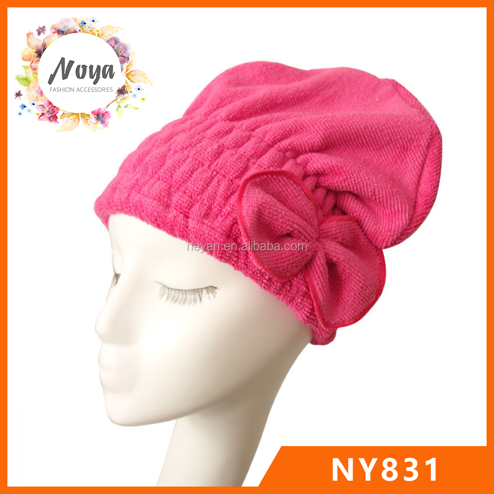 Mircofiber Dry hair hat,hair-drying cap,women shower dry hair hat