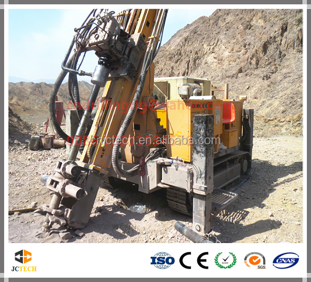 High-effective all hydraulic crawler reverse circulation drilling rig for sale in mine drilling rig