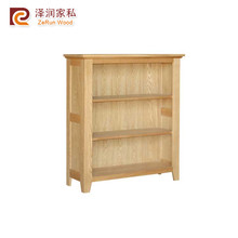 Solid oak furniture natural color shoe cabinet