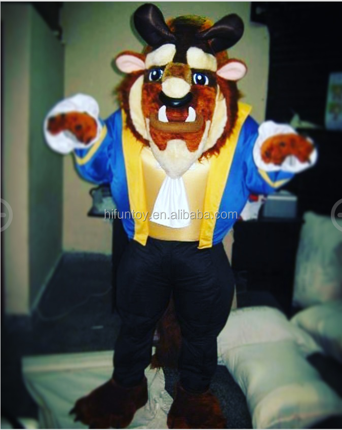 Funtoys CE beauty and beast mascot costume