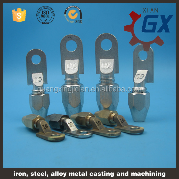 Electrical cable crimp lug/terminal