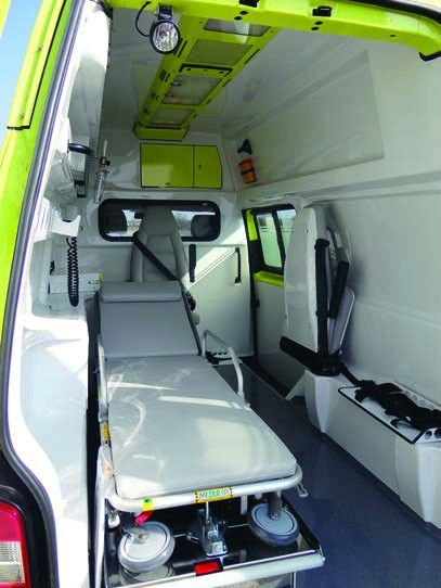 Ambulance vehicle volkswagen t5