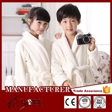 Plain flannel fleece bathrobe beautiful night gown evening gowns for teenagers