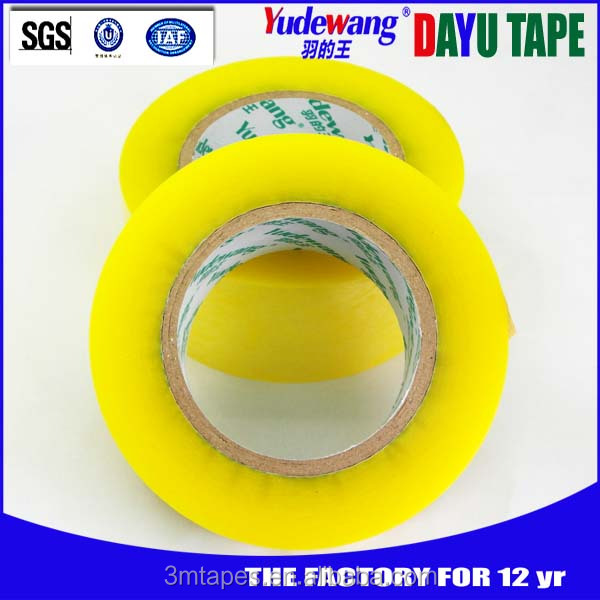 12years manufacturer bopp transparent wrapping tape