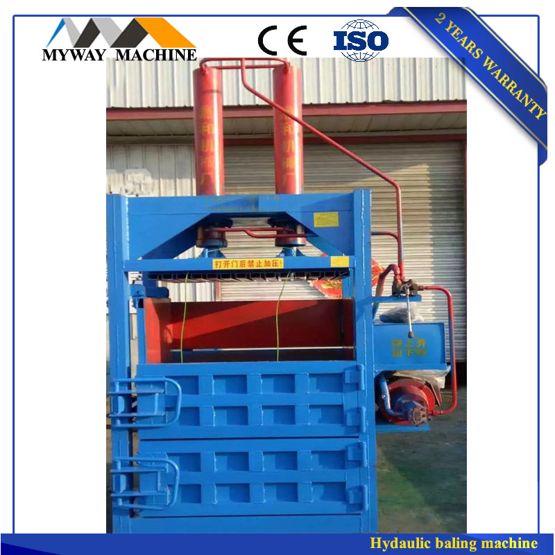 Cardboard press machine/automatic baler press/waste paper machine