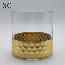 High quality slanted glas alabaster bud vase from China