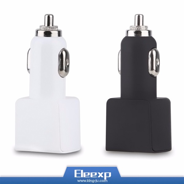 Quick car phone charger dual usb car charging for ipad for iphone