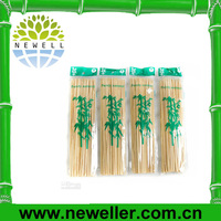 2014Newell heart-shaped bamboo skewers For Bulk Sale