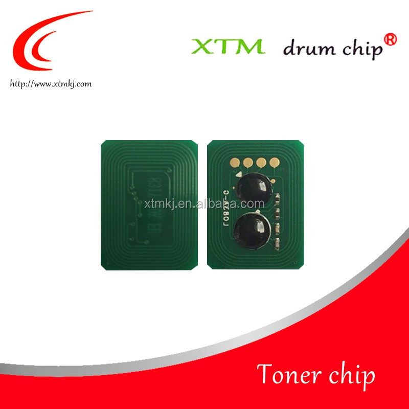 Compatible 106R01077 106R01078 106R01079 106R01080 toner chips for Xerox Phaser 7400 cartridge reset chips