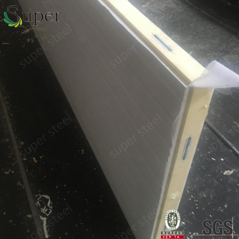 Factory Composite Perpainted Steel Metal Insulated Foam Eps Sandwich Panel Price For Cleanroom Panel/cold Storage Room
