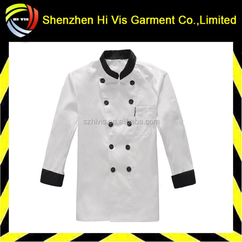 Hot sell wholesale custom chef uniforms