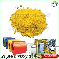 Fine powder chemical pigments middle chrome yellow pigment for paint