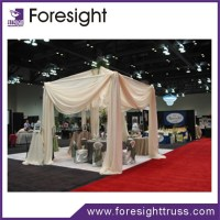wedding decoration pipe and drape stand ceiling drape