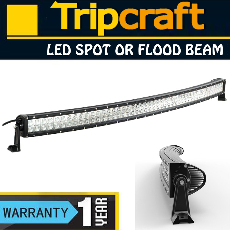 Tripcraft 180w Curved LED Light Bar for Offroad Vehicle,Heavty Duty,Agriculture,Mining and Marine