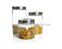 Promotional OEM Offered Factory Wholesale Customized Packaging Pickle Glass Storage Jar