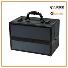 professional makeup artist black aluminum make up tool box