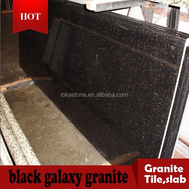 Granit Marbre Noir Galaxy De L\'inde - Buy Product on Alibaba.com