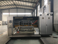 Automatic high speed flexo printing&slotting&die cutter machine