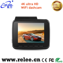 high quality 2.4 Inch ultra HD 4K wifi car black box micro camera with built in GPS dashboard camera
