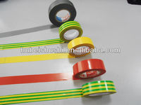 strong adhesive RoHS Approved PVC Electrical Insulation Tape with Adhesive pvc floor marking tape