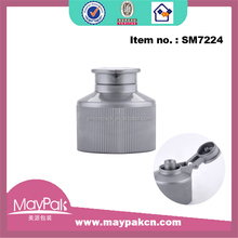Wholesale Shampoo dispenser flip plastic top bottle cap,plastic cap