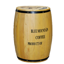 Wholesale Cheap storage large wooden coffee bean barrels