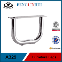 manufacturer metal furniture sofa legs for sale A329